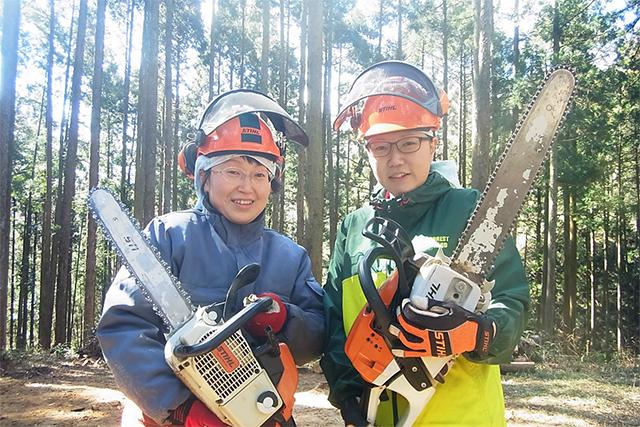 特殊伐採・森林整備